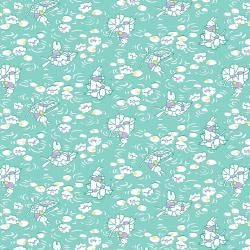 RJ2500-TE2 Everything But The Kitchen Sink XV - Bunny - Teal Fabric
