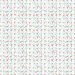 RJ2503-BU1 Everything But The Kitchen Sink XV - Tulips - Bubblegum Fabric