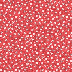 RJ2504-SC3 Everything But The Kitchen Sink XV - Daisys - Scarlet Fabric