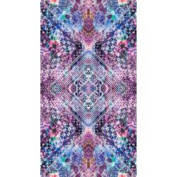 RJ300-AM1D Fiorella - Looking Glass - Amethyst Digiprint Fabric