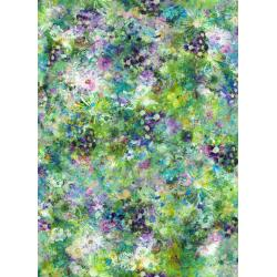 RJ302-FI1D Fiorella - Dream Garden - Field Digiprint Fabric