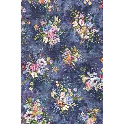 3538-001 Fleur Couture - Boutique Blooms - Vintage Digiprint Fabric