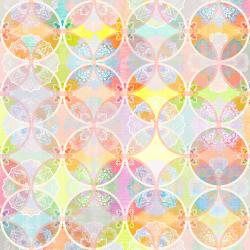 RJ1104-OP2D Flourish - Bangles - Opal Digiprint Fabric