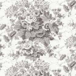 RJ2700-GY3 Garden Toile - Tolie - Gray Fabric