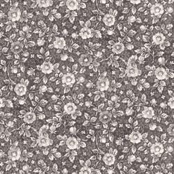 RJ2702-SH3 Garden Toile - Vintage Floral - Shadow Fabric