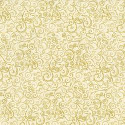 1991-003 Holiday Accents Classics Cream/Gold Fabric