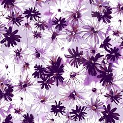 RJ1801-LO1 Ink Rose - Daisy Bundle - Light Orchid Fabric