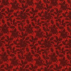 3493-002 Let It Sparkle - Holiday Lace - Radiant Crimson Metallic Fabric