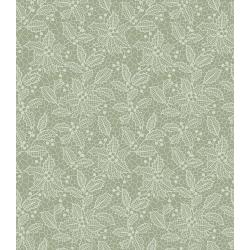 3494-002 Let It Sparkle - Holiday Lace - Silver Sage Fabric