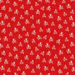 RJ1902-FL1 Lil' Bit Country - Any Way the Wind Blows - Flame Fabric