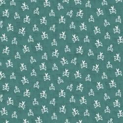 RJ1902-TE3 Lil' Bit Country - Any Way the Wind Blows - Teal Fabric