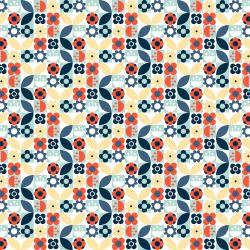 RJ2603-MG1 London is Calling - Underground - Morning Glory Fabric