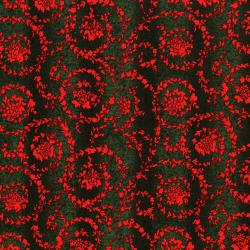 3161-003 Merry, Berry, & Bright - Garland - Radiant Pine Metallic Fabric