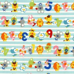 3289-001 MofPof - Pal Parade - Fruit Punch Fabric