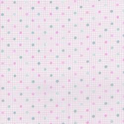 3292-003 MofPof - Dot - Bubblegum Fabric
