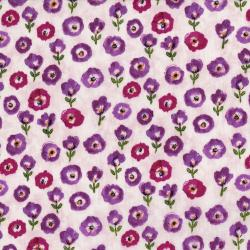 3517-001 Petal Park - Fresh Cut Floral - Sweet Pea Fabric