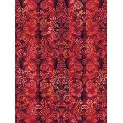 RJ406-CR1D Pineview - All Spruced Up - Cranberry Digiprint Fabric