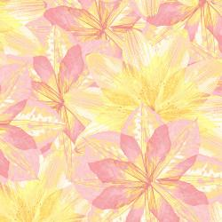 RJ2400-PL2 Pressed Floral - Kaleidoscope Floral - Pink Lemonade Fabric