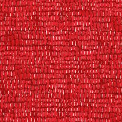 3280-001 Rose Hutch - Glossy Dot - Rouge Fabric