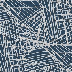 RJ2801-BN4M Shiny Objects - Glitz and Glamour - Fiberglass - Blue Note Metallic Fabric