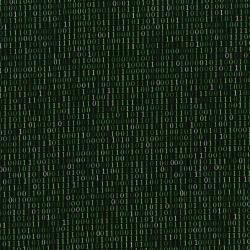 2955-001 Silver Circuits - Binary Solo - Green Metallic Fabric