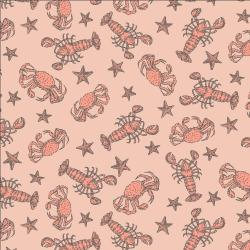 RJ2303-SU2 Smooth Seas - Crustacean - Sunbathe Fabric