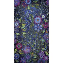 3609-001 Starlight & Splendor - Pageantry - Moonlit Digiprint Fabric