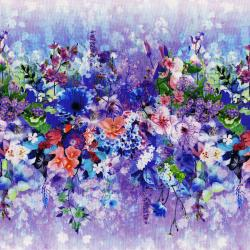 3090-001 Wildwood Way - Petal Path - Multi Digiprint Fabric