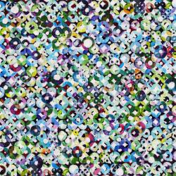 3093-001 Wildwood Way - Relections - Opal Digiprint Fabric