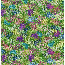 3094-002 Wildwood Way - Enchanted Meadow - Moss Digiprint Fabric