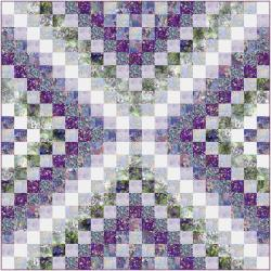 9653-507 Wildwood Way - Garden Path Quilt Kit
