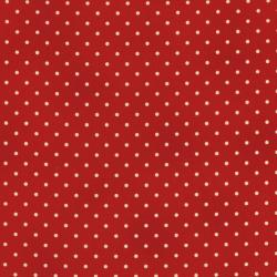 0016-004 Home Essentials - Dots - Red Fabric