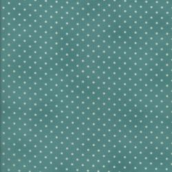 0016-041 Home Essentials - Dots - Seafoam/Cream Fabric