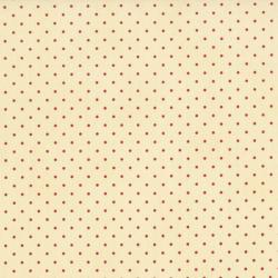 0016-051 Home Essentials - Dots - Cream/Begonia Fabric