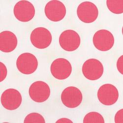 2940-002 Mon Cheri - Hot Date Dot - Rose Petal Fabric