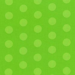 3127-002 Happy Owl-O-Ween - Big Ol Dots - Goulish Green Fabric