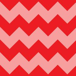 VF203-RE1 Stripes - Chevron Stripe - Red Fabric