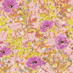 VF400-PI3 Wild Acres - Poppy - Pink Fabric
