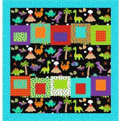 Dino Daze Pocket Organizer Pattern