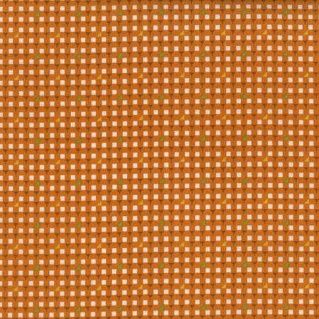 2438-002 Pie Making Day - Table Cloth - Orange Fabric