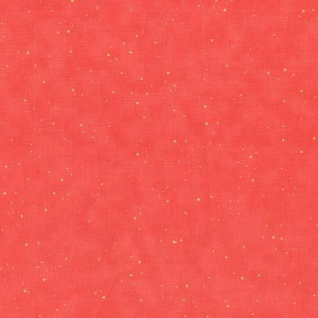 2792-003 Oasis - Flurries - Coral Metallic Fabric 1
