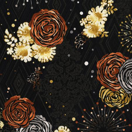 3478-001 Shiny Objects - Precious Metals - Adornment - Rose Gold Metallic Fabric