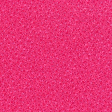 3222-003 Hopscotch - Square Dance - Hot Pink Fabric