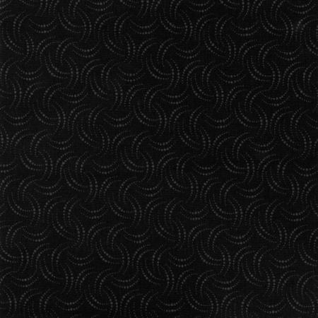 9410 014 Jinny Beyer Palette Eyelash Black Fabric