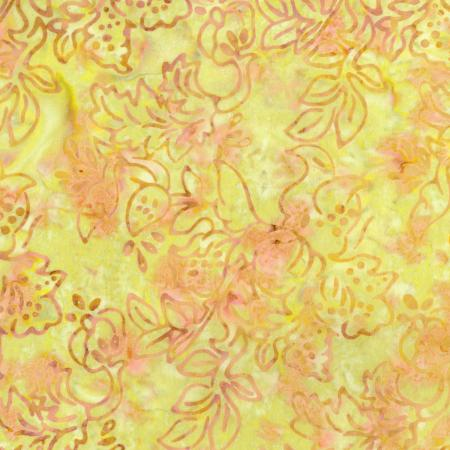 2979-002 Malam Batiks IV - Jewel Box - Amber Batik Fabric