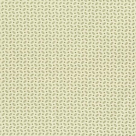 3010-001 Forget Me Not - Seedlings - Cream Fabric