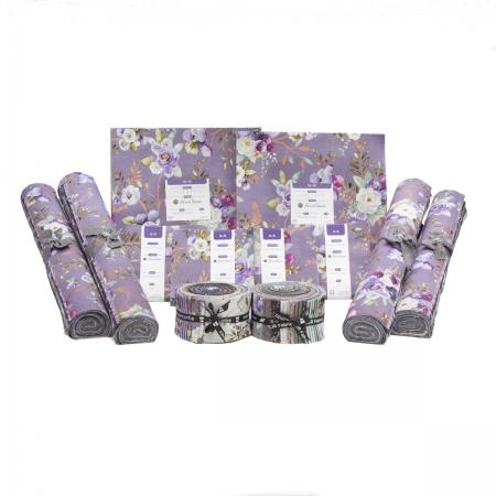 PS100P-4X2X2X4 Lilac & Sage Metallic Precut Pack