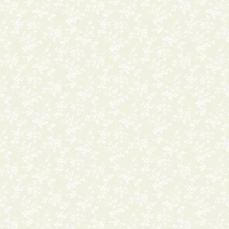 2612-002 Bare Essentials Deluxe - Morning Glory - Off White/White Fabric