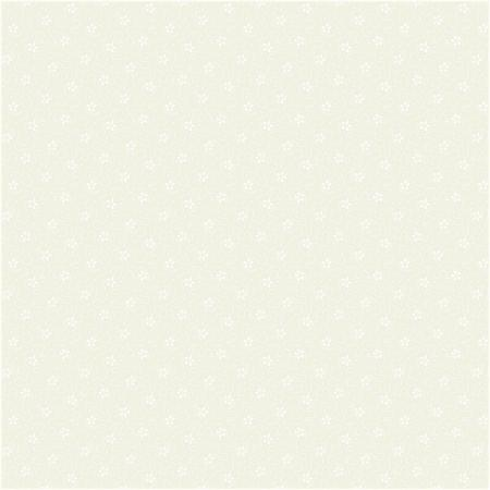 2617-002 Bare Essentials Deluxe - Flower Trail - Off White/White Fabric