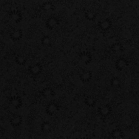 3317-003 Bare Essentials Deluxe - Linework Floral - Black Tie Fabric